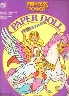 Had a million of these paper doll books. And a million She-Ras.