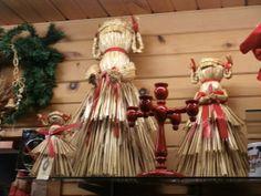 Swedish straw Jul Decorations