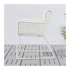 terrassen  - HÖGSTEN Stol med armlener, utendørs  - IKEA