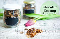 Schoko-Kokos-Granola - Geschenke aus der Küche; Chocolate Cocos Granola Recipe