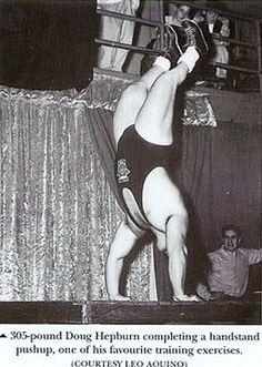 Heavyweight Handstand Pushups