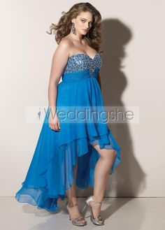 Elegant Asymmetry Evening/Prom Dresses(Free Shipping)
