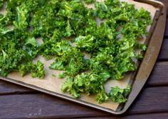 A Brown Table: See Taste Love: baked barbecue kale chips
