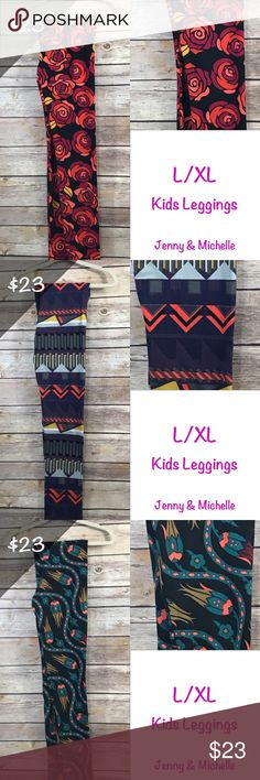 LulaRoe Buttery Soft leggings L/XL Children's Buttery Soft leggings LuLaRoe Pants Leggings