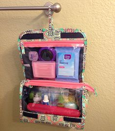47. Toiletries Bag: Hair Brush; Deodorant; Lotion/SPF 30 Sunscreen; Shampoo/Conditioner/Soap; Nail Polish; Clippers; Nail File; Toothbrush/Toothpaste Everyday Simple | Toiletry Bag - Pre-packing