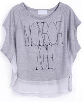 To find out about the Grey Sleeveless Contrast Chiffon Trims Letters Print Vest at SHEIN, part of our latest T-Shirts ready to shop online today! Latest T Shirt, Contrast, Chiffon, Vest, Graphic Sweatshirt, Letters, Sweatshirts, Grey, Chic