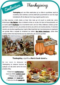 History for kids teaching activities 65 new Ideas English Vocabulary, English Grammar, Teaching English, Traditional Thanksgiving Dinner, Thanksgiving Parties, Thanksgiving Projects, Thanksgiving Decorations, English Lessons, Learn English