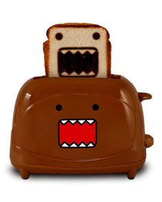 OMG!!!!! Check out what I found on Shop Jeen.com!!! What do you think?!?! DOMO TOASTER