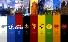Game of Thrones Houses and their mottos