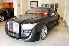 Modified Rolls Royce Silver Spirit MKIV