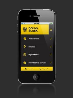 Mobile navigation design for inspiration