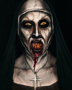 Mixxedmonster 💀 on Instagra Horror Movie Characters, Horror Movies, Arte Horror, Horror Art, Maquillage Halloween, Halloween Makeup, Vampires, Bald Cap, Scary Makeup
