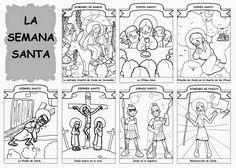 Dibujos para catequesis: LA SEMANA SANTA