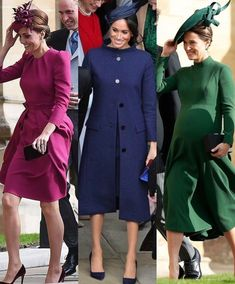 Kate , Meghan and pippa Kate Middleton Style, Pippa Middleton, Duchess Kate, Duchess Of Cambridge, Princess Kate, Princess Eugenie, Eugenie Wedding, Eugenie Of York, Kate And Meghan