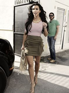 Kim kardashian in skinnier times