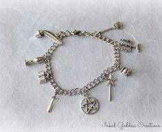 Witch's Tools of the Trade Charm Bracelet