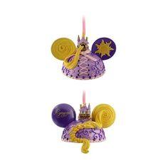 Princess Rapunzel, Christmas Ornament, Ear Hat, Tangled