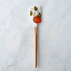 Botanical Pumpkin Silicone Spatula #williamssonoma