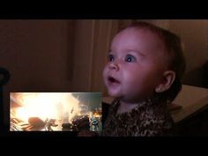 "Babies React to the New ""Star Wars: The Force Awakens"" Trailer #starwars #theforceawakens #starwarsepisodevii #trailer #geek #viral #cute #internet #funny #film #movies"