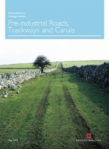 Front cover for Introductions to Heritage Assets: Pre-industrial Roads, Trackways and Canals