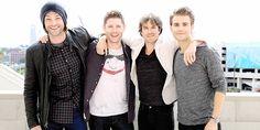 Jared Padalecki, Jensen Ackles, Ian Somerhalder & Paul Wesley
