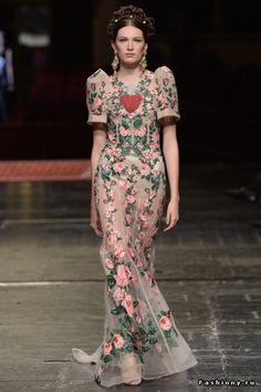 Dolche & Gabbana Alta Moda Весна-Лето 2016 (Часть 1)