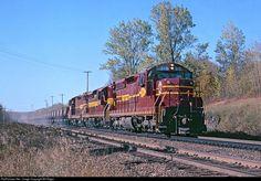 RailPictures.Net Photo: DMIR 316 Duluth, Missabe & Iron Range Railway EMD SD18 at Duluth, Minnesota by Bill Edgar