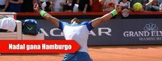 El español logró su segundo título en el torneo alemán, lo que le permite subir al noveno puesto del ranking mundial y situarse sexto en su objetivo de clasificarse para las Finales ATP de Londres.    El despertar de Nadal. Siete años después, Rafa Nadal ha vuelto a proclamarse campeón en el torneo de Hamburgo, después de superar en una disputada final al italiano Fabio Fognini, con quien había perdido sus dos últimos partidos, por un doble 7-5 tras dos horas y 34 minutos.
