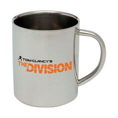 Tom Clancy's The Division Stainless Steel Mug - Headshot Gaming Merchandise Tom Clancy The Division, Urban Survival, Toms, Stainless Steel, Raiders, Gaming, City, Videogames, Cities