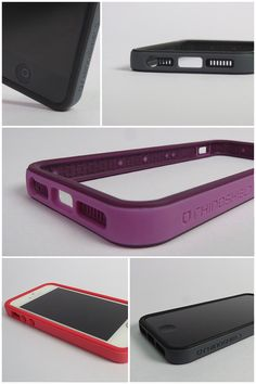 Crash Guard prototype for the iPhone 5 (Actual product photo)
