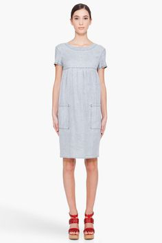 grey ashley dress // a.p.c.