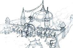Unpublished Fantasy MMO Concept Art