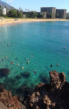 Hulaland Beach Blog: Snorkeling at Black Rock, Kaanapali Beach, Maui
