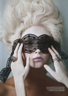 Mask - Marie Antoinette