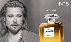Brad Pitt: Chanel No.: Photo Check out these new images of Brad Pitt looking dapper for his Chanel No. The actor recently shared his thoughts on being… Perfume Chanel, Coco Chanel Parfum, Chanel Brand, Perfume Ad, Chanel Couture, Chanel Paris, Perfume Bottles, Vintage Perfume, Beauty