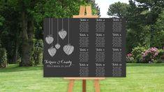 Mariage DIY: 30 idées pour faire un plan de table -  #Diy #faire #idées #mariage