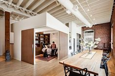 A loft between tradition and modern