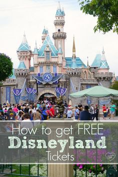 This is how to get FREE Disneyland tickets like we did. Easy to do and it works for Disney World tickets too!