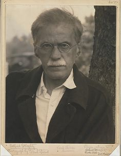 Alfred Stieglitz, Photographed by Paul strand, 1929
