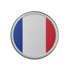 Patriotic French Flag Bluetooth Speaker
