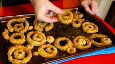 WATCH! Best Onion Rings Recipe in the Oven ...healthier than fried . Thank YOU ! .do not forget to follow me ... thanks !