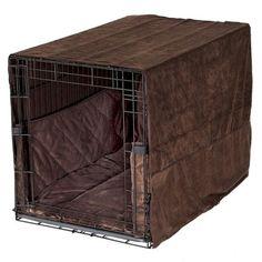 Pet Dreams Plush Dog Crate Cover