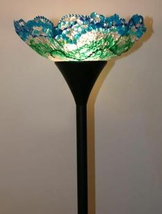 what to do with mardi gras beads | What to do with those leftover Mardi Gras beads? Make a lampshade ...