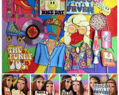 apoyos de la cabina de la foto hippie perfectos por thepartyevent