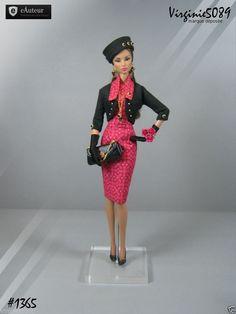 Tenue Outfit Accessoires Pour Fashion Royalty Barbie Silkstone Vintage 1365   eBay