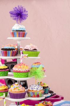 Cupcake stand!