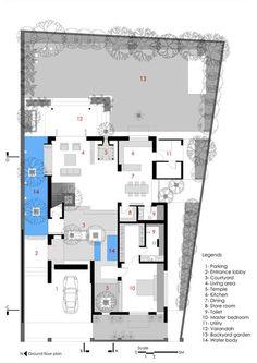 Casa Tijolos,Ground Floor Plan