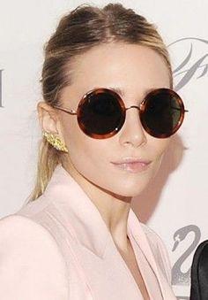30 Beautiful round female sunglasses