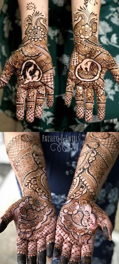 50 Henna Designs simple - easy bridal and party hand ideas - Craftionary . Modern Henna Designs, Beautiful Henna Designs, Simple Mehndi Designs, Bridal Mehndi Designs, Bridal Henna, Beautiful Patterns, Eid Crafts, Ramadan Crafts, Non Permanent Tattoo