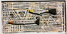 Fishes on wood by Gonzalo Mandian Ibiza